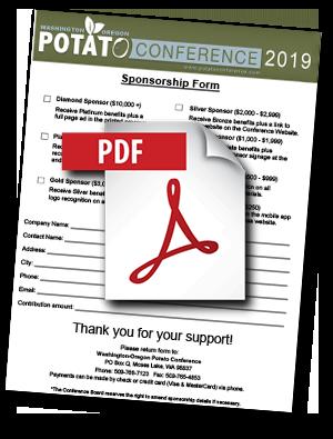 Sponsorship Form 2019