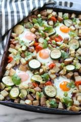 One Pan Veggie Potato Breakfast Hash