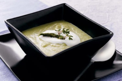 Asparagus and Yukon Gold Potato Soup