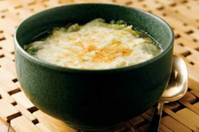 Baked Potato and Cabbage Soup
