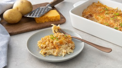 Baked Mac and Cheese Hash Browns