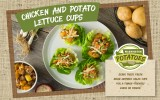 Chicken and Potato Lettuce Cups