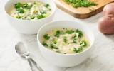 Creamy Potato Broccoli and Kale Soup