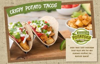 Crispy Potato Tacos