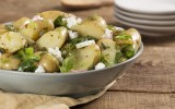 Fennel and Goat Cheese Potato Salad