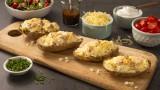 Ham & Cheese Stuffed Potato Skins