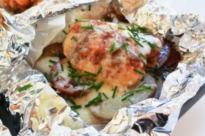 Latin Chicken & Potato Pouches