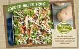 Loaded Greek Fries