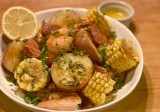 Low Country Potato and Shrimp Boil