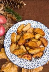 Miso Caramel Potatoes
