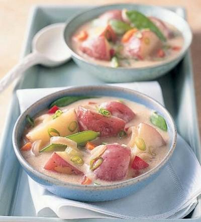 Pacific Rim Potato and Veggie Stew