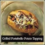 Grilled Portabello Potato Topping