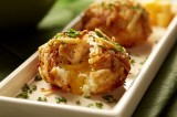 Roasted Garlic Potato Croquettes with