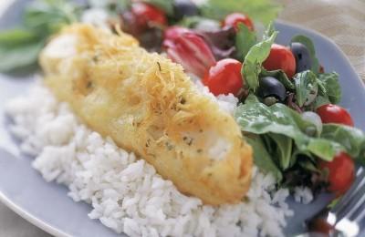 Potato Crusted Chilean Sea Bass