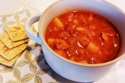 Southern Sausage and Potato Stew