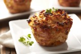 Southwest Potato Cups with Sweet Corn & Chipotle Peppers