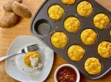 Southwest Ranch Potato Egg Cups