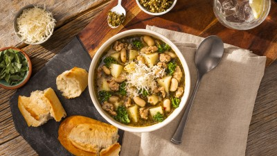 Tuscan Kale and Potato Instant Soup