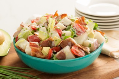 Photo of Avocado BLT Potato Salad in a bowl