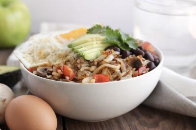 Hash Brown Breakfast Bowl