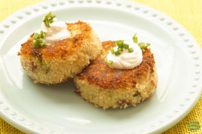 Loaded Baked Potato Cakes